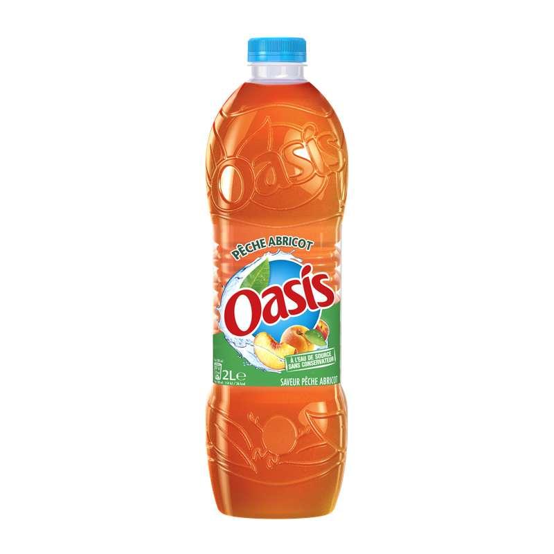 Oasis Pêche-Abricot (2 L)