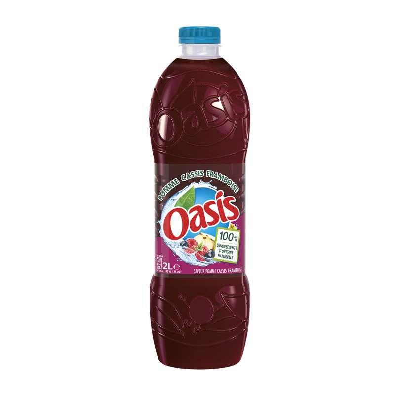 Oasis Pomme-Cassis-Framboise (2 L)