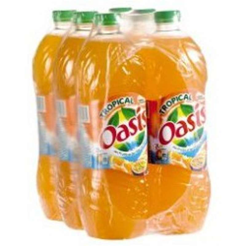 Pack d'Oasis tropical (6 x 2 L)