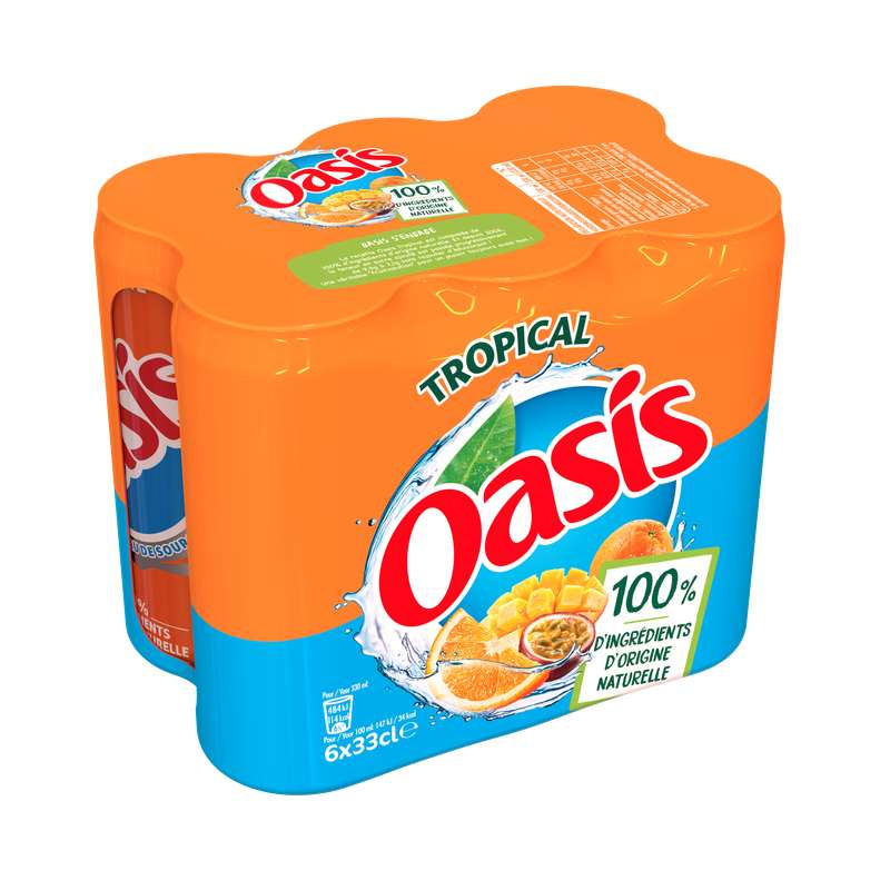 Pack d'Oasis Tropical (6 x 33 cl)