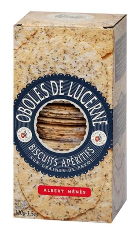 Oboles de Lucerne aux graines de pavot, Albert Ménès (100 g)