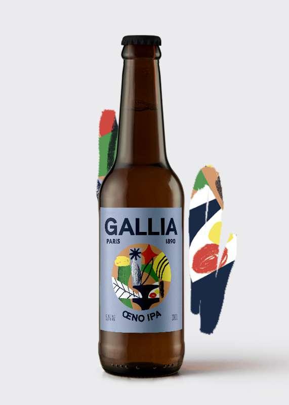 Oeno IPA bière acide 5,1%, Gallia (33 cl)