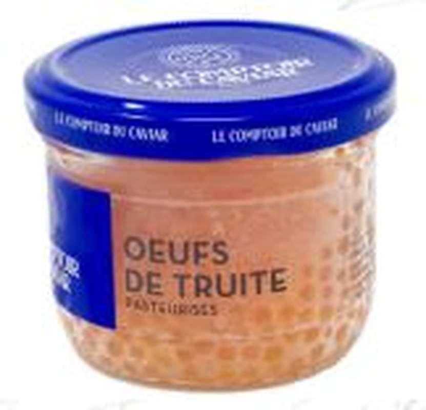 Oeufs de truite, Le Comptoir du Caviar (90 g)