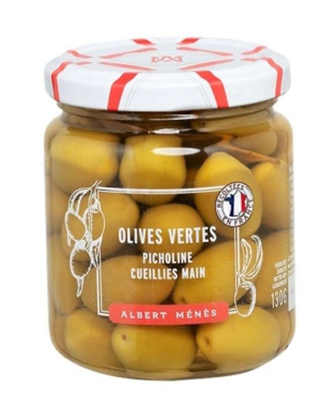 Olives vertes Picholine, Albert Ménès (130 g)