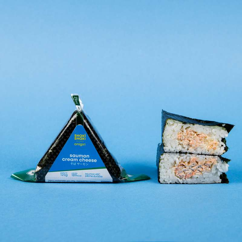 Onigiri saumon-cream cheese, Shaki Shaki (125 g)