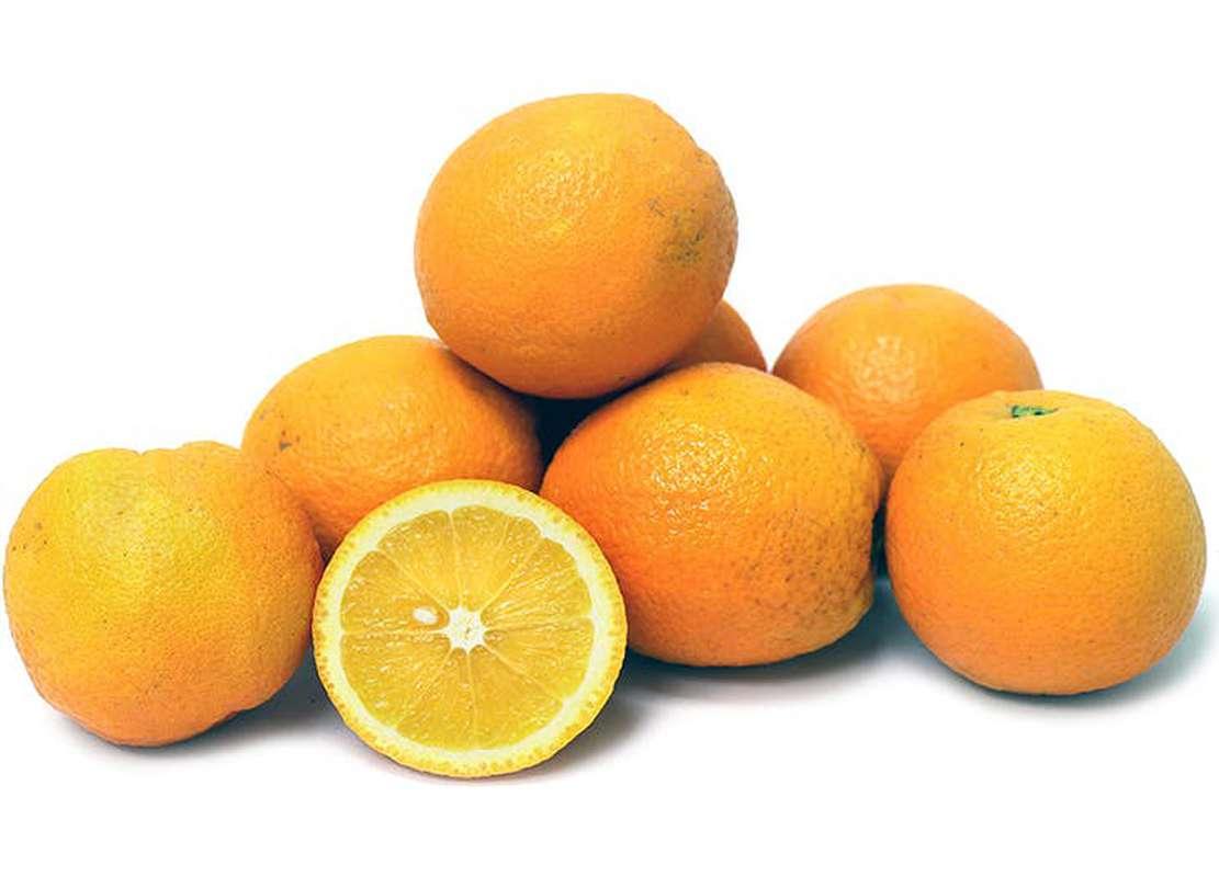 Lot de 8 oranges à jus (calibre moyen), Afrique du Sud
