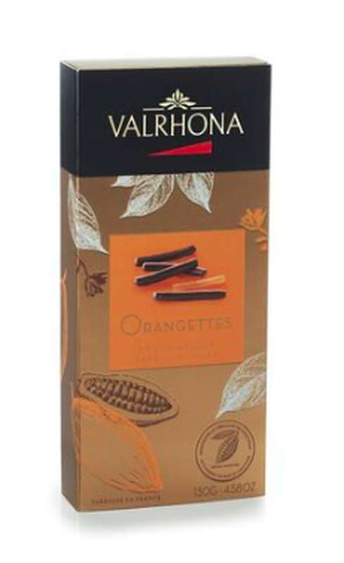 Orangettes, Valrhona (130 g)