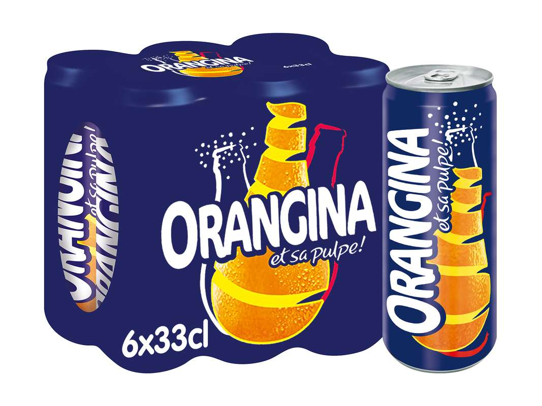 Pack d'Orangina (6 x 33 cl)