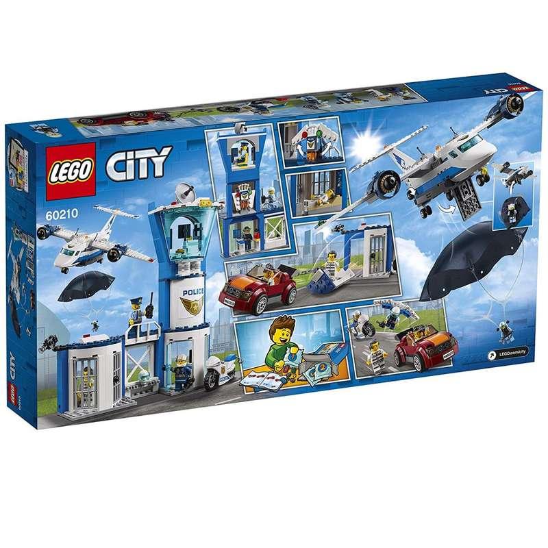 La base aérienne de la police, Lego