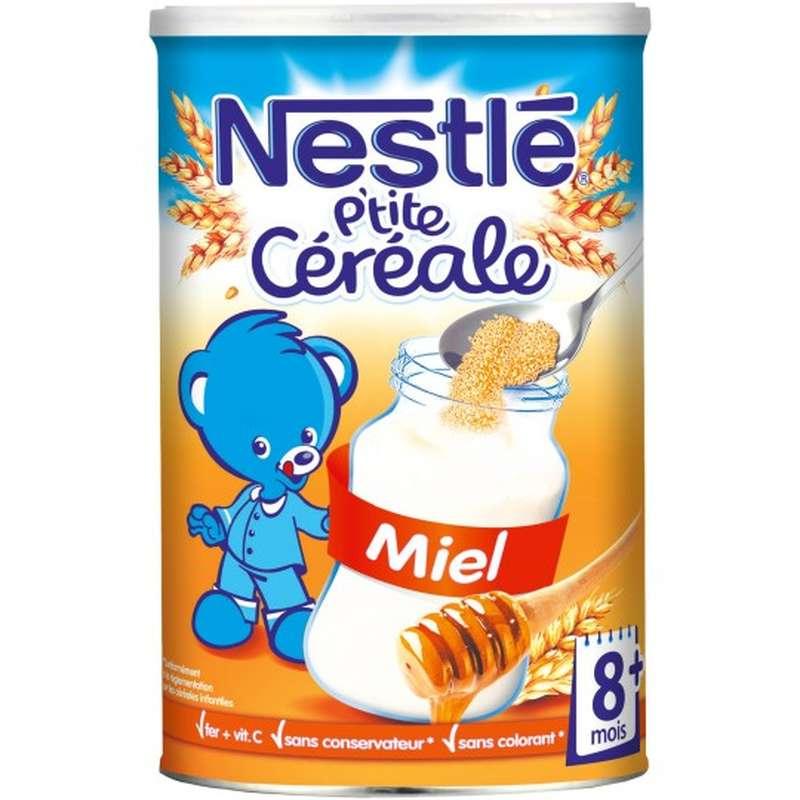 P'tite céréale au miel - 8 mois et +, Nestlé (400 g)