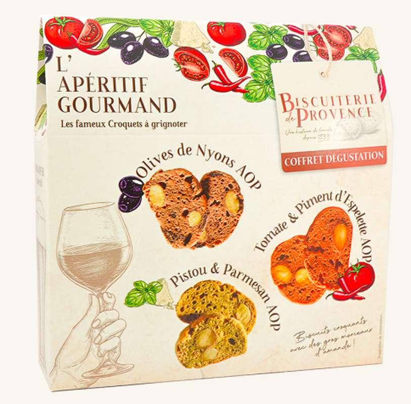 Pack Apéritif Provencal, Biscuiterie de Provence (x 3, 150 g)