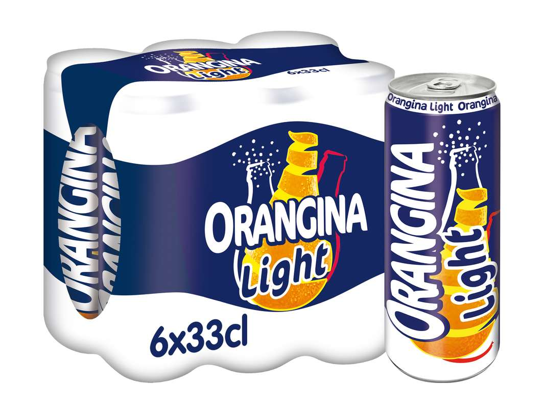 Pack d'Orangina Light (6 x 33 cl)