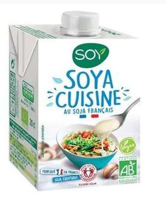 Pack de 3 + 1 OFFERT Soya cuisine BIO, Soy (4 x 200 ml)