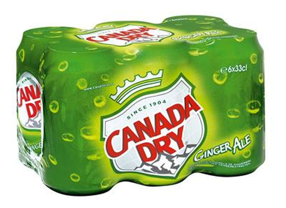 Pack de Canada Dry Ginger Ale (6 x 33 cl)