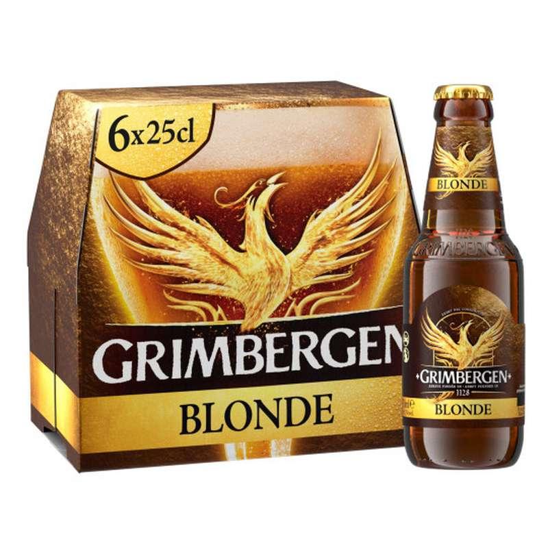 Pack de Grimbergen blonde ( 6 x 25 cl)