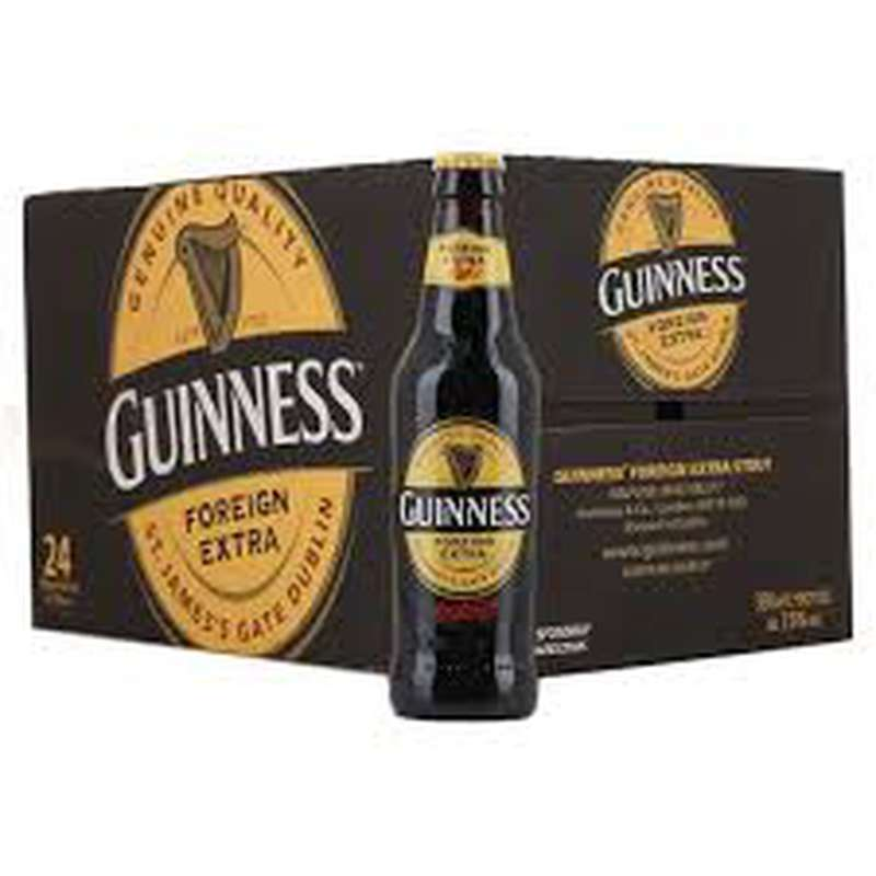 Pack de Guiness Foreign Extra (24 x 33 cl)