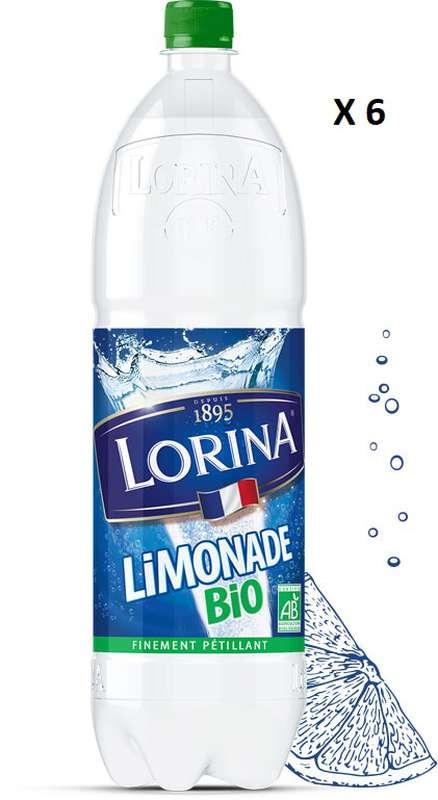 Pack de Limonade double zest BIO, Lorina (6 x 1.5 L)