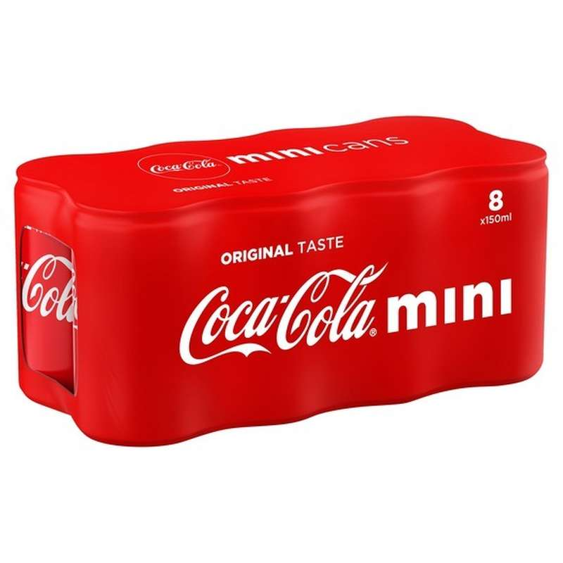 Pack de Mini Coca-Cola (8 x 15 cl)