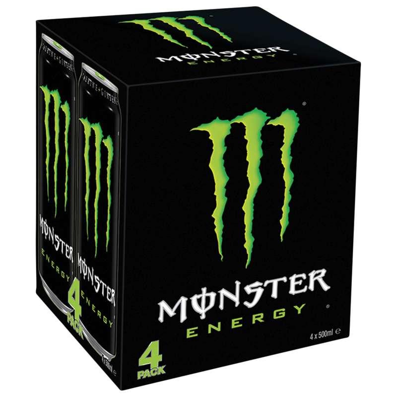 Pack de Monster Energy (4 x 50 cl)
