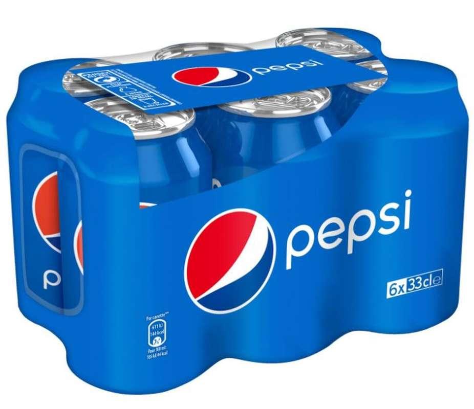 Pack de Pepsi (6 x 33 cl)