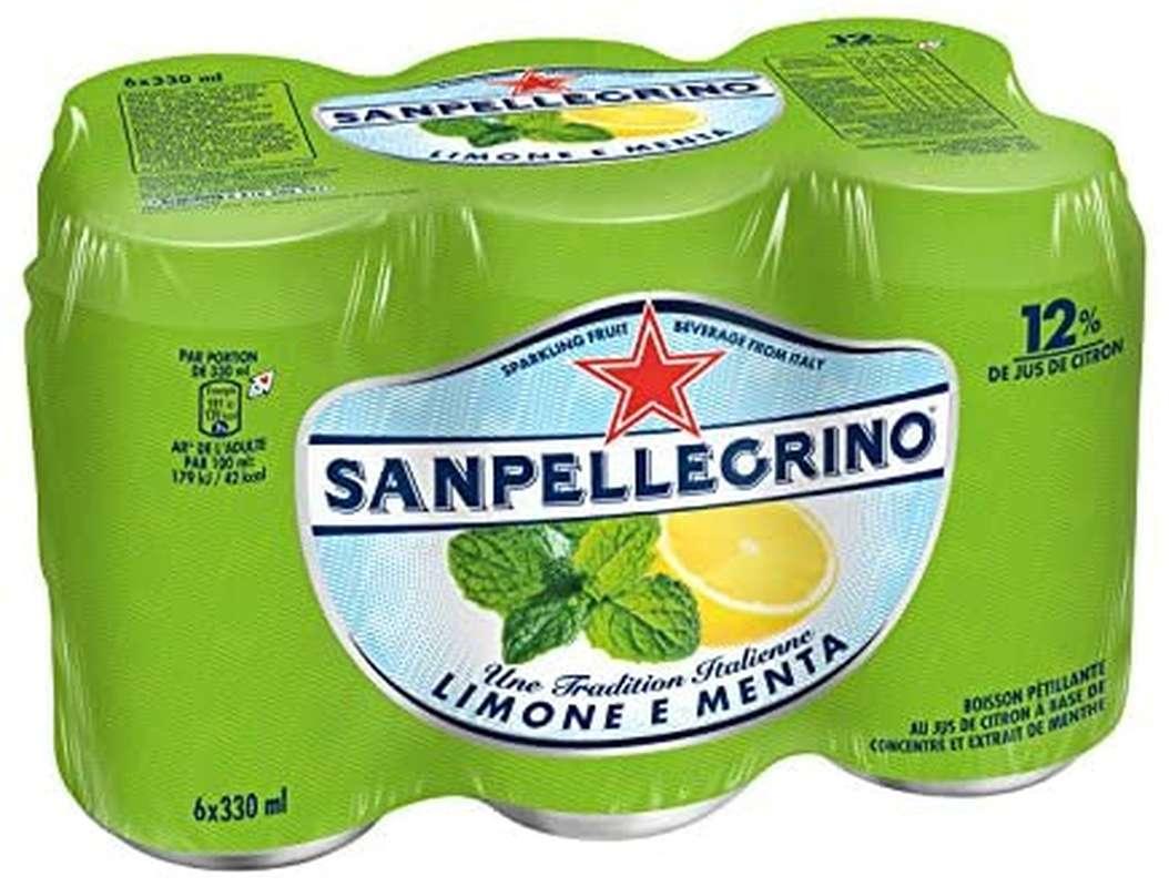 Pack de San Pellegrino Limone e Menta (6 x 33 cl)