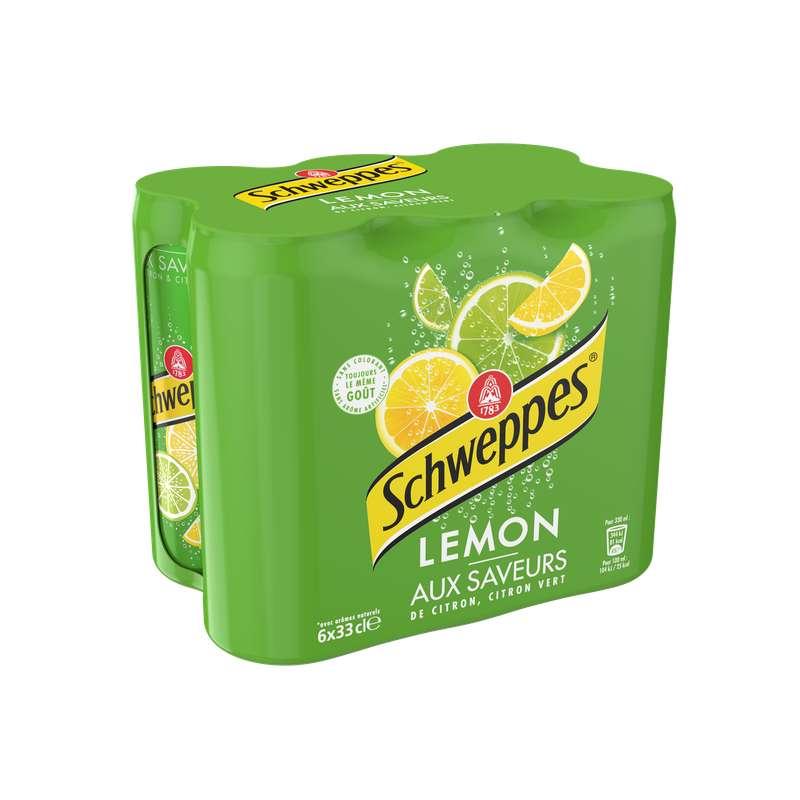 Pack de Schweppes Lemon (6 x 33 cl)