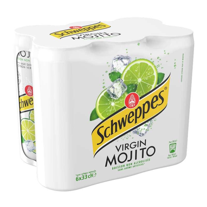 Pack de Schweppes Mojito (6 x 33 cl)