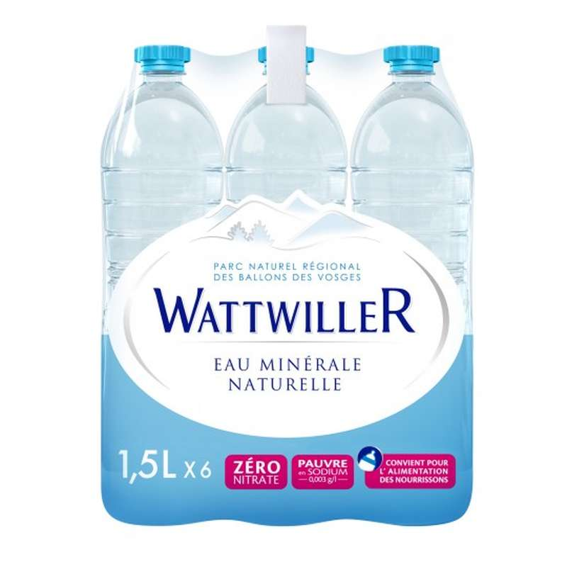 Pack de Wattwiller (6 x 1,5 L)