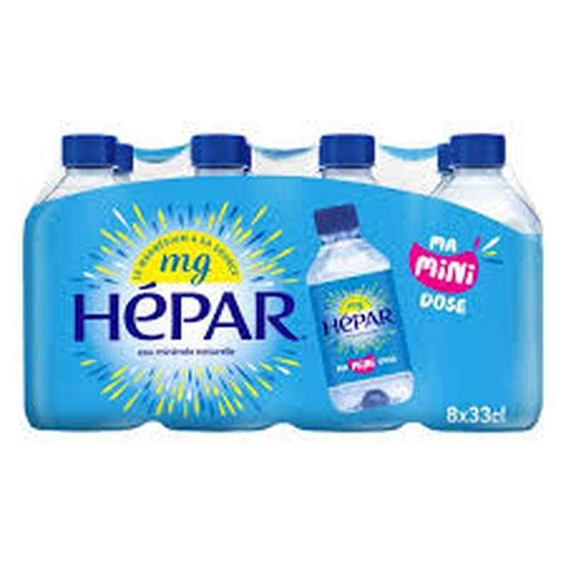Pack Hepar (8 x 33 cl)