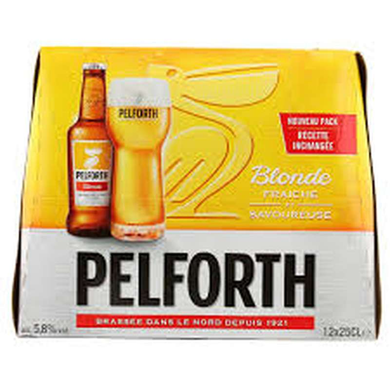Pack Pelforth, 5.8° (12 x 25 cl)