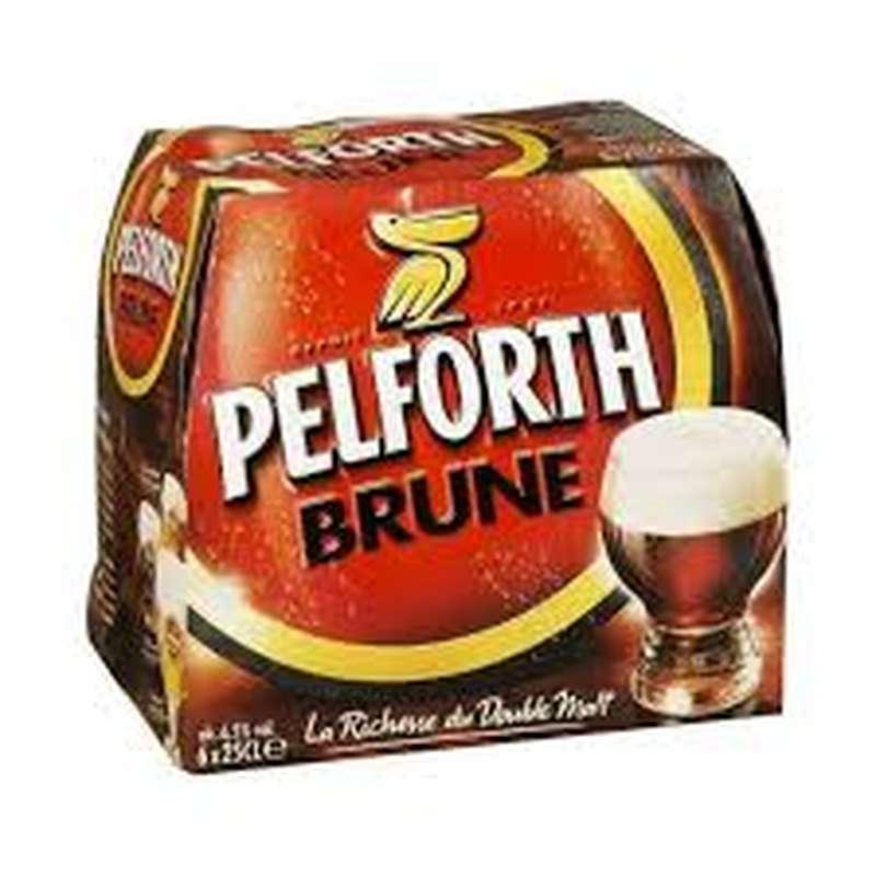 Pack Pelforth Brune (6 x 25 cl)