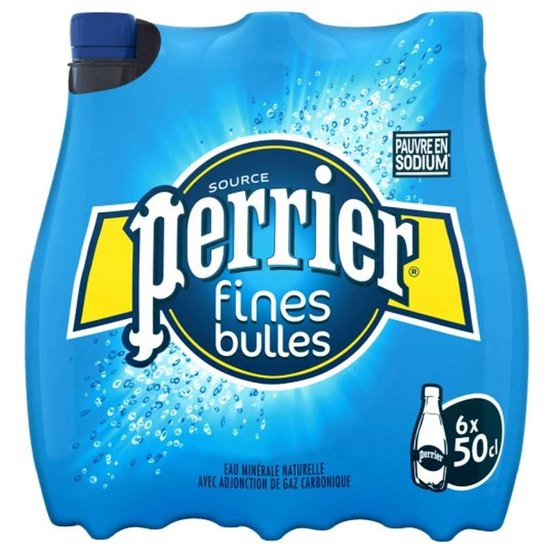 Pack Perrier fines bulles (6 x 50 cl)