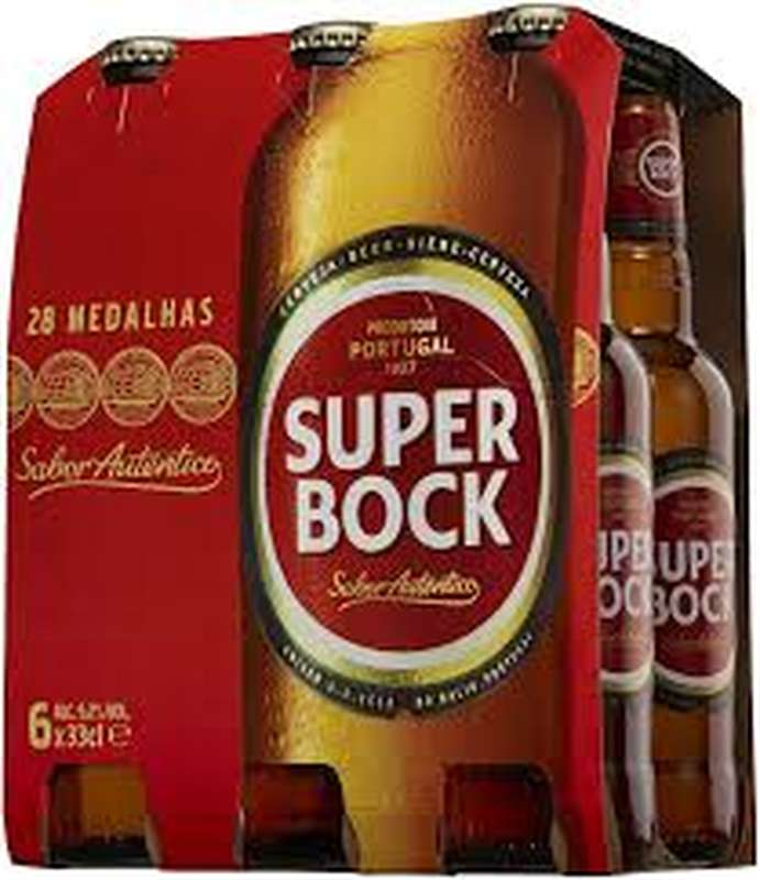 Pack Super Bock blonde, 5.2° (6 x 25 cl)