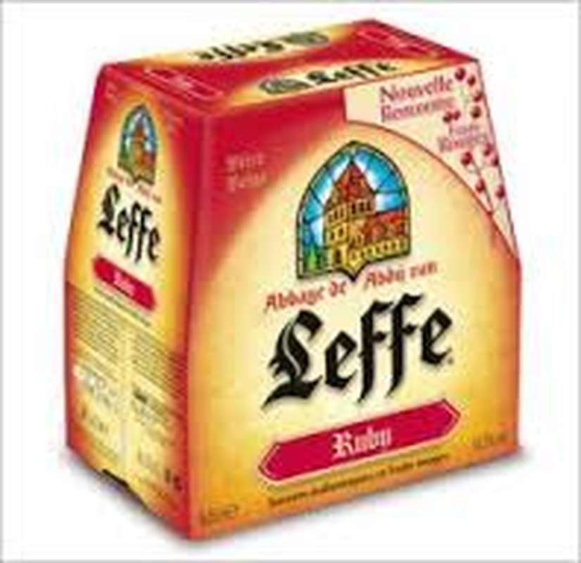Pack de Leffe Ruby (6 x 25 cl)