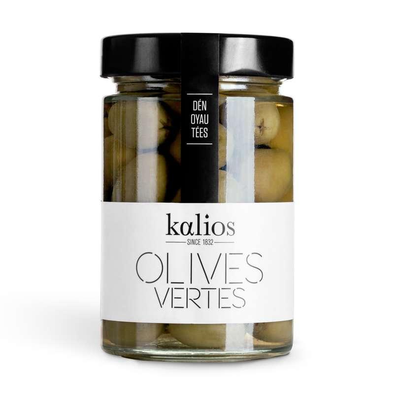 Olives vertes dénoyautées, Kalios (310 g)