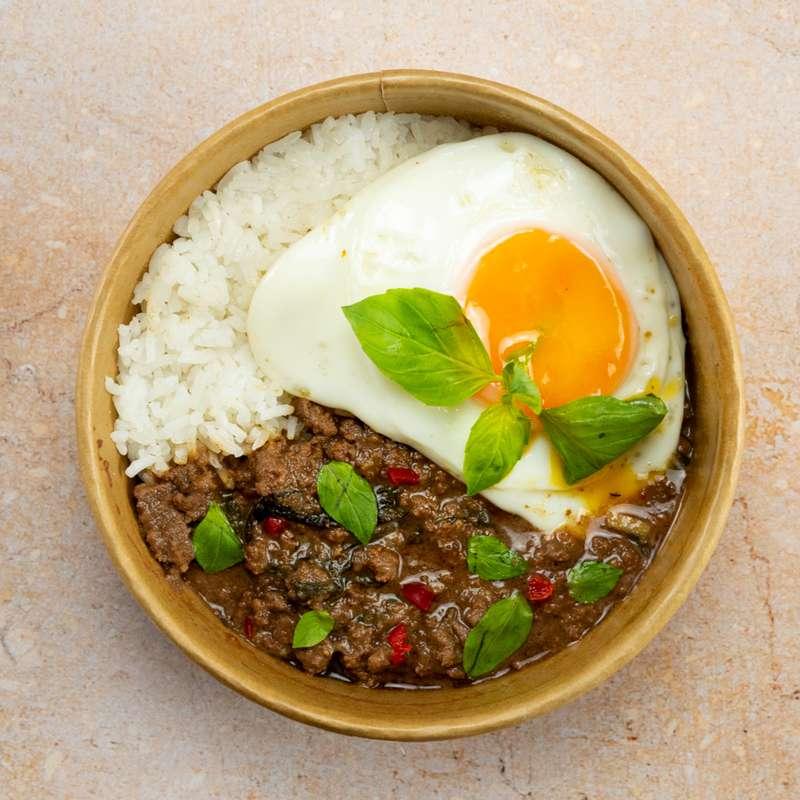 Pad Gra Prow, bœuf au basilic thaï (350 g)