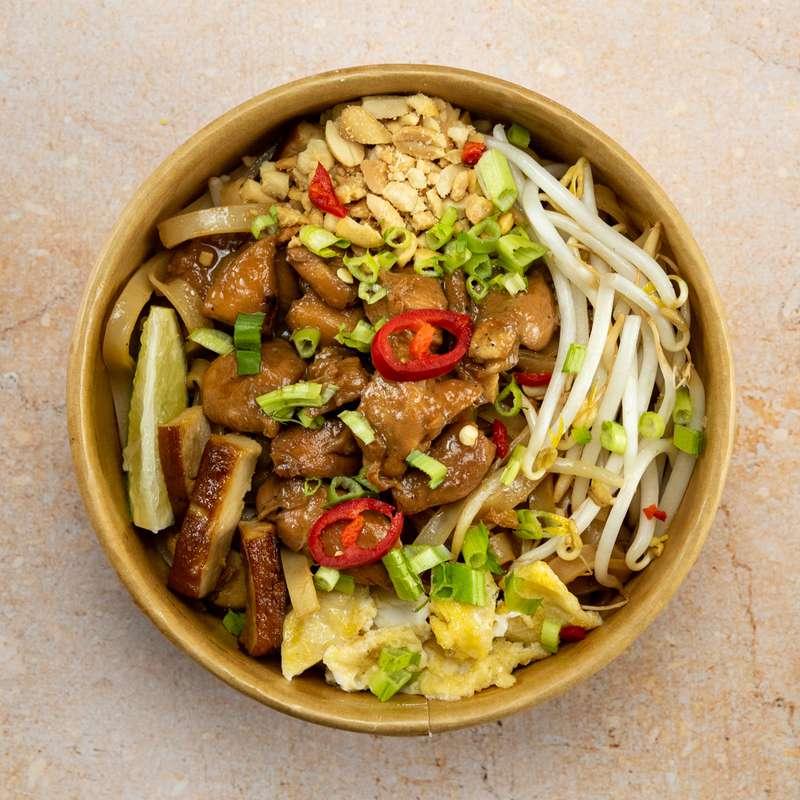 Pad Thaï au poulet fermier (300 g)