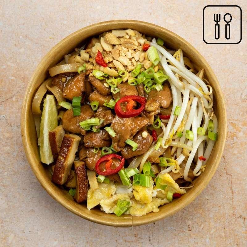 Pad Thaï au poulet fermier (portion enfant, 200 g)