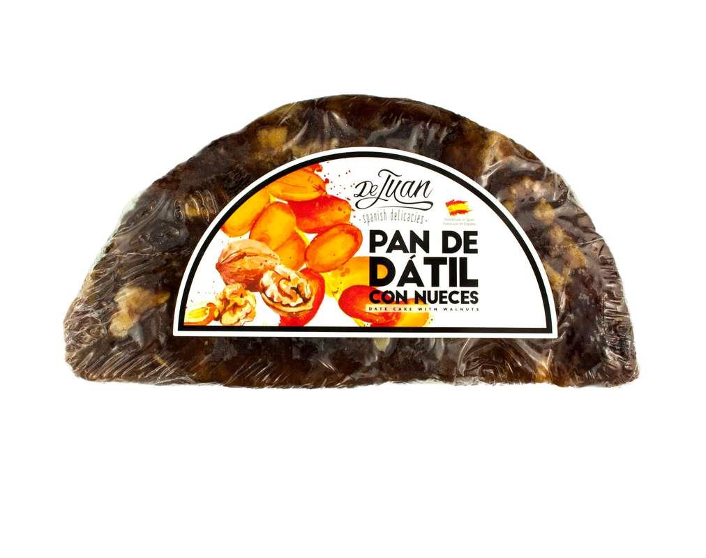 Pain de dattes aux noix en demi-lune, De Juan (125 g)