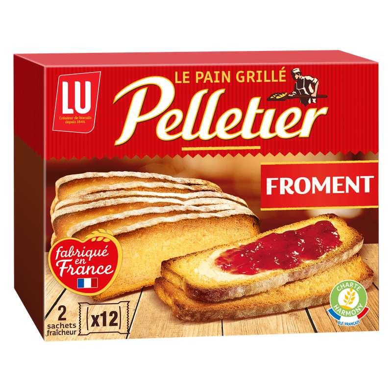 Pain grillé au froment, Pelletier (24 tranches, 455 g)