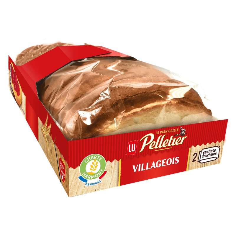 Pain grillé Villageois, Pelletier (300 g)