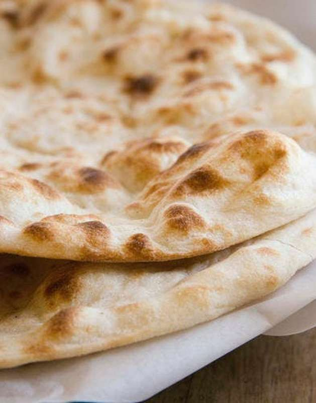 Pain indien Cheese naan artisanal - à déguster le jour même