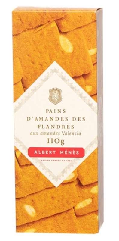 Pains d'amandes des Flandres aux amandes Valencia, Albert Ménès (110 g)