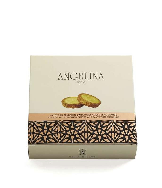 Palets au beurre de Baratte et sel de Guérande, Angelina (125 g)
