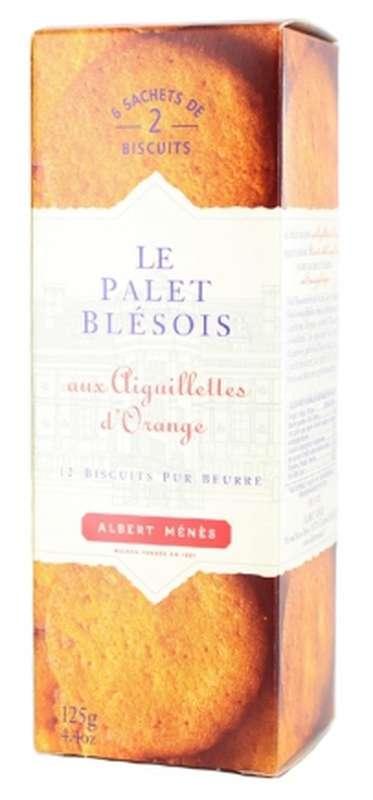 Palets Blésois aux aiguillettes d'orange, Albert Ménès (125 g)