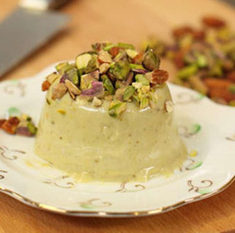 Panna cotta à la pistache (170 g)
