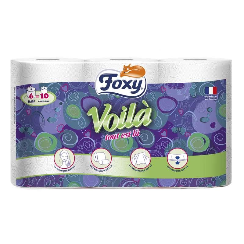 Papier toilette voila, Foxy (x 6)