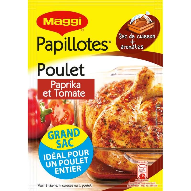 Assaisonnement pour papillotes de poulet paprika, Maggi (28 g)