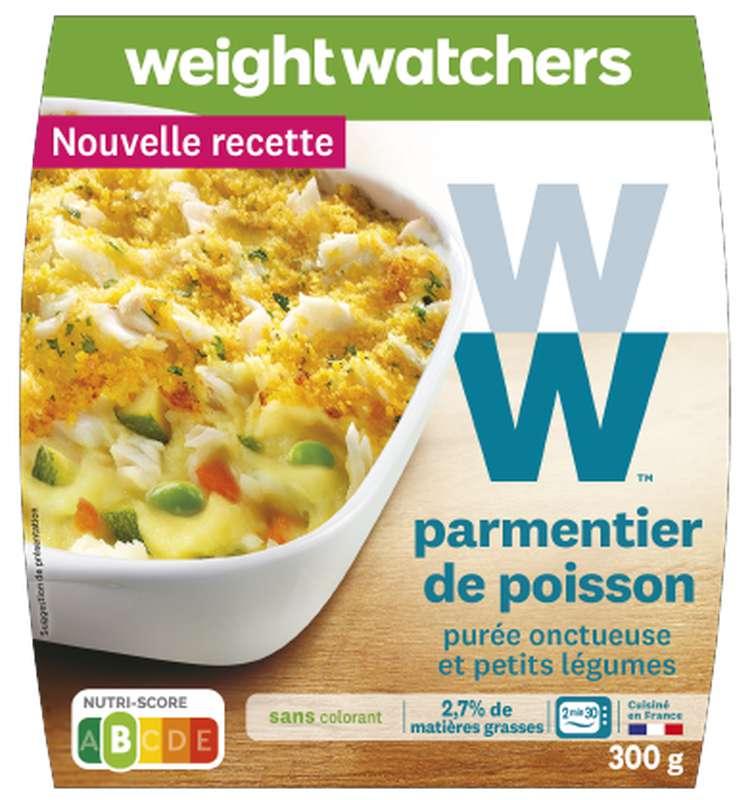 Parmentier de poisson, purée et petits légumes, Weight Watchers (300 g)