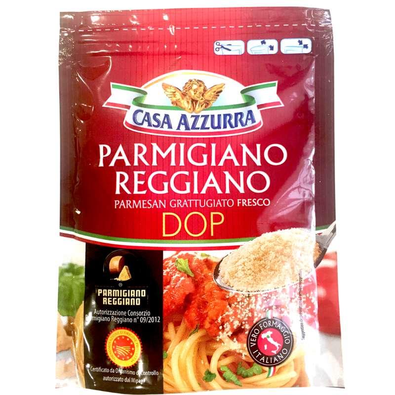 Parmigiano reggiano AOP râpé, Casa Azzurra (70 g)